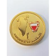 "US Navy Fifth Fleet Kingdom Of Bahrain Challenge Coin 1.75"""