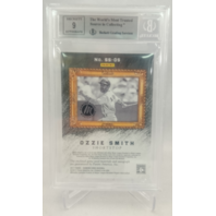 2017 Diamond Kings Sketches & Swatches Masterpiece OZZIE SMITH BGS 9 Auto 9 1/1