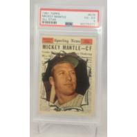 1961 Topps Mickey Mantle All-Star #578 VG-EX PSA 4 HOF NY New York Yankees