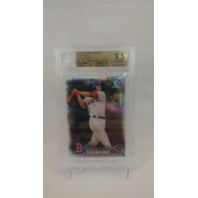 2016 Bowman Chrome Prospects Refractors Andrew Benintendi Graded 9.5 #'d 372/499