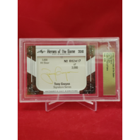 2018 Leaf Heroes Of The Game Cut Signature TONY GWYNN  Baseball HOF AU 2417/3000