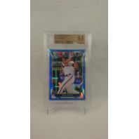 2014 Bowman Chrome Blue Refractors JOSE ABREU Graded 9.5 #'d 105/250 Rookie Card
