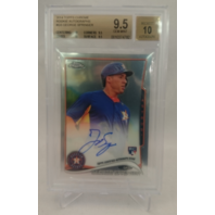 2014 Topps Chrome Rookie Autographs GEORGE SPRINGER BGS 9.5 Auto 10