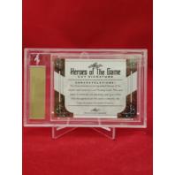 2018 Leaf Heroes Of The Game Cut Signature TONY GWYNN  Baseball HOF AU 2254/3000
