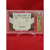 2018 Leaf Heroes Of The Game Cut Signature TONY GWYNN  Baseball HOF AU 2254/3000