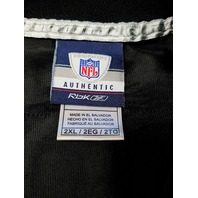 Reebok Authentic NFL Equipment David Garrard #9 Black Jersey Mens Sz 2XL Jaguars