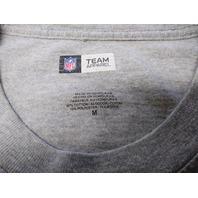 NFL Team Apparel Gray Green Bay Packers Long Sleeve T-Shirt Size M Football