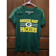NFL Teens Apparel Green Bay Packers Green T-Shirt Juniors Size L 11/13