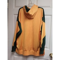 NFL Green Bay Packers Yellow & Green Pullover Hoodie Size 2XL XXL Football