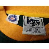 Lee Sport Green Bay Packers Green Sweatshirt Size L Football NFL