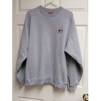 Reebok Green Bay Packers Gray Sweatshirt Size L Football NFL