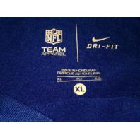 NFL Team Apparel Dark Blue New York Giants Shirt Size XL Football