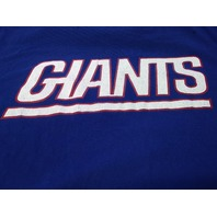 Nike NFL Team Apparel Blue New York Giants Graphic T-Shirt Size L Football
