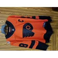 Fanatics Philadelphia Flyers #28 Claude Giroux Orange Jersey Size M NHL