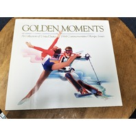 Golden Moments: A Collection of 1984 US Commemorative Olympic Issues Book Stamps