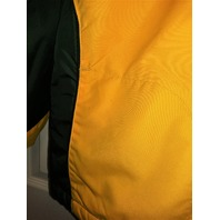 NFL Green Bay Packers Fleece Lined Full Zip Jacket w/ Hood Size XL Football