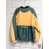 GIII by Carl Banks Green Bay Packers Reversible Jacket Size M Fleece Football