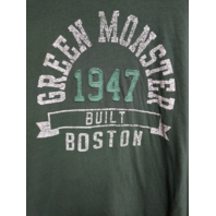 Banner 47 Boston Red Sox Green Monster Fenway Park Green T-Shirt Size XL MLB