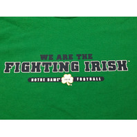 Adidas Green Notre Dame We Are The Fighting Irish 2010 T-Shirt Men's Size XL