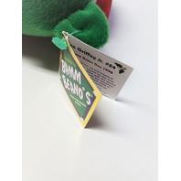 Salvino's Bamm Beano's Ken Griffey Jr Green Christmas Beanie Plush Bear