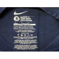 Nike New England Patriots Blue T-Shirt Size S Gronkowski #87 Gronk NFL Football