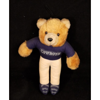 "Vintage 1995 Good Stuff Team NFL Dallas Cowboys 8"" Plush Teddy Bear"