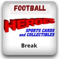 Football 2 Team Random 2020 Leaf Metal Box (HBBFB0001)