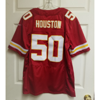 NFL Players Kansas City Chiefs #50 Justin Houston Jersey Men's Size 44
