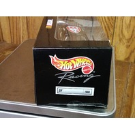 1999 Hot Wheels Racing Black Chrome Orange Deluxe 1:24 #43 STP John Andretti NIB