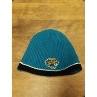 NFL Equipment Jacksonville Jaguars Reversible Knit Beanie Cap Black/Teal