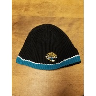 NFL Equipment Jacksonville Jaguars Reversible Knit Beanie Cap Black/Teal