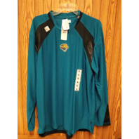 NFL Team Apparel Jacksonville Jaguars Active Blue Long Sleeve Shirt Sz L NWT