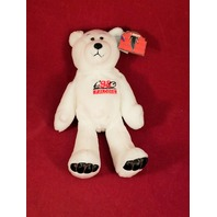 Limited Treasures Jamal Anderson #32 White Beanie Plush Bear #1308/12500 Falcons
