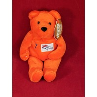 Salvino's Bammers John Elway #7 Orange Beanie Plush Bear Denver Broncos
