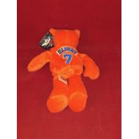 Limited Treasures John Elway #7 Orange Beanie Plush Bear Denver Broncos