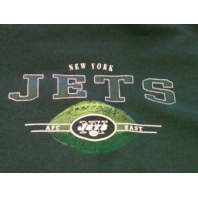NFL Green New York Jets Sweatshirt Size XL Football AFC East