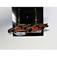 Action Sports Image NASCAR Dangle Fishhook Earrings #28 Havoline