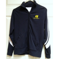 College Concepts Sport Jimmie Johnson 48 Navy Blue Full Zip Jacket Size M NASCAR
