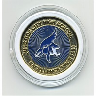 Junction City High School Army JROTC Challenge Coin For Leadership Excellence