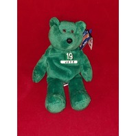Limited Treasures Keyshawn Johnson #19 Green Beanie Plush Bear New York Jets