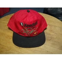 Vintage 1995 Kyle Petty Red Trucker Hat Kendall Racing Snapback Cap NASCAR