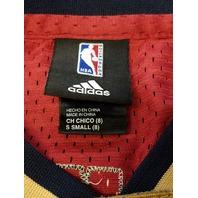 Lebron James #23 Cleveland Cavaliers Sleeveless Jersey Shirt Size S NBA Adidas