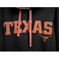 Champs Sports Black Orange Texas Longhorns Pullover Hoodie Jacket Size L NCAA