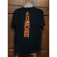 Fanatics Baltimore Orioles #13 Manny Machado Black T-Shirt Size M Baseball