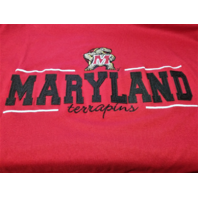 Cadre Red University Of Maryland Terrapins T-Shirt Men's Sz XL NWT NCAA Football