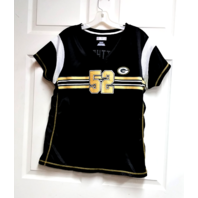 NFL Team Apparel Women's Green Bay Packers #52 Clay Matthews Jersey Shirt Sz XL