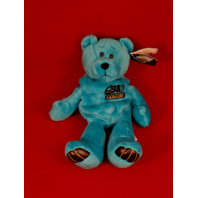 Limited Treasures Mark Brunell #8 Teal Blue Beanie Plush Bear #5507 Jaguars