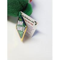 Salvino's Bamm Beano's Mark McGwire #25 Green Christmas Beanie Plush Bear
