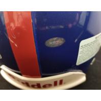 ELI MANNING Signed Full Size Pro Riddell Helmet #1 Draft Pick Mounted Memories