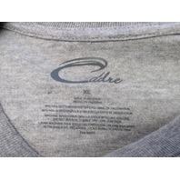 Cadre Gray Miami Hurricanes T-Shirt Men's Size XL NEW NWT NCAA ACC